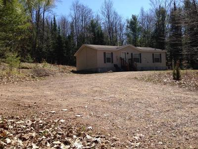 Tomahawk Single Family Home For Sale: N6726 Hwy 107