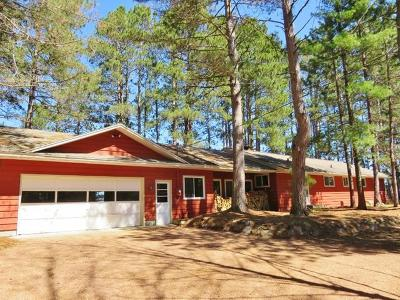 Three Lakes Single Family Home For Sale: 7600 Wheeler Island Rd