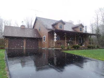 White Lake Single Family Home For Sale: N3666 Hwy 55
