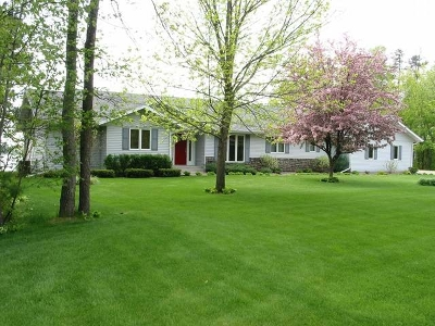 Tomahawk, Tripoli, Gleason, Rib Lake, Ogema, Brantwood Single Family Home For Sale: N11753 Ella Rd