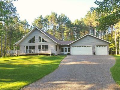 Minocqua Single Family Home For Sale: 10910 Florsheim Rd
