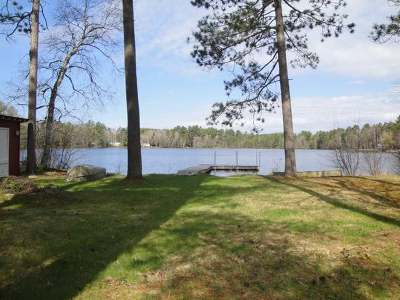 Forest County, Iron Wi County, Langlade County, Lincoln County, Oneida County, Vilas County Single Family Home For Sale: 3353 Faust Lake Rd S