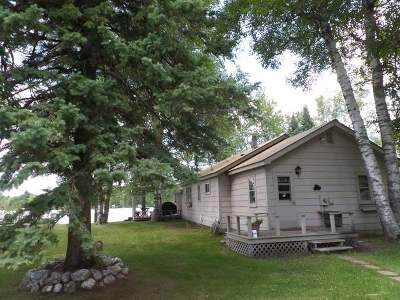 Minocqua Single Family Home For Sale: 14276 Sugarbush Tr