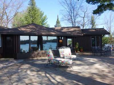 Minocqua Single Family Home Active O/C: 8390 Driftwood Pl