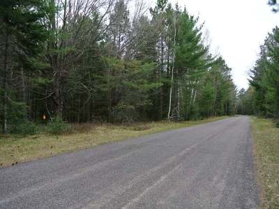 Three Lakes WI Residential Lots & Land For Sale: $29,500
