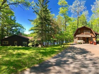 Boulder Junction Single Family Home For Sale: 5935 Oswego Fishtrap Lake Rd