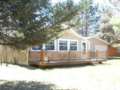 Hazelhurst Single Family Home For Sale: 8742 Wind Pudding Dr S
