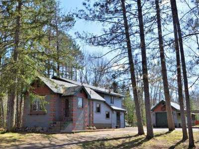 Plum Lake Single Family Home For Sale: 9233 Cth N