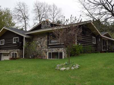 Forest County, Iron Wi County, Langlade County, Lincoln County, Oneida County, Vilas County Single Family Home For Sale: 3952 Trails End Loop