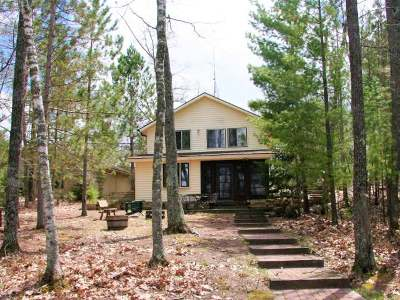 Eagle River WI Single Family Home For Sale: $269,900