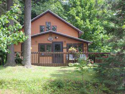 Forest County, Iron Wi County, Langlade County, Lincoln County, Oneida County, Vilas County Condo/Townhouse For Sale: 10379 Big Arbor Vitae Dr #10
