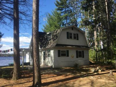Three Lakes Single Family Home For Sale: 1468 Wicks Rd