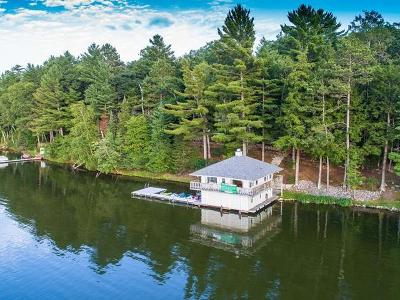 Minocqua WI Single Family Home For Sale: $1,995,000
