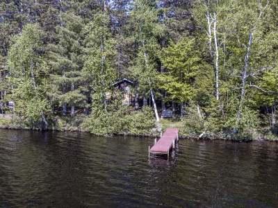 Minocqua Single Family Home For Sale: 8547 Squaw Lake Rd E