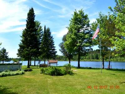 Forest County, Iron Wi County, Langlade County, Lincoln County, Oneida County, Vilas County Single Family Home For Sale: 1649 Lake Rd