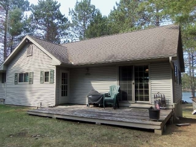 Manitowish Waters Single Family Home Active O/C: 13407 E Bay Rd