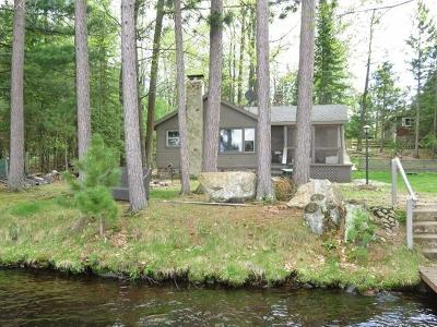 Three Lakes Single Family Home For Sale: 7457 Cth X