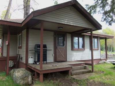 Forest County, Iron Wi County, Langlade County, Lincoln County, Oneida County, Vilas County Single Family Home For Sale: 3422 Tutts Rd