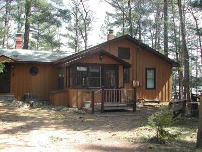 Manitowish Waters Single Family Home For Sale: 5678 Point O Pines Rd