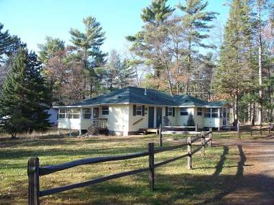 Forest County, Iron Wi County, Langlade County, Lincoln County, Oneida County, Vilas County Duplex For Sale: 9567 Townline Rd