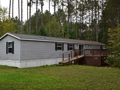 Single Family Home For Sale: N11926 Pratt Rd