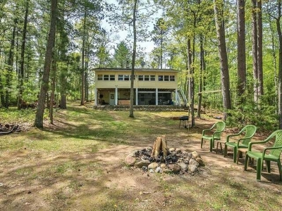 Eagle River WI Single Family Home For Sale: $214,900