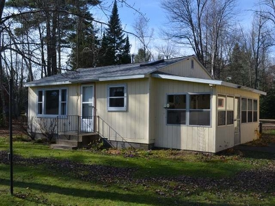 Tomahawk WI Single Family Home Sold: $119,900