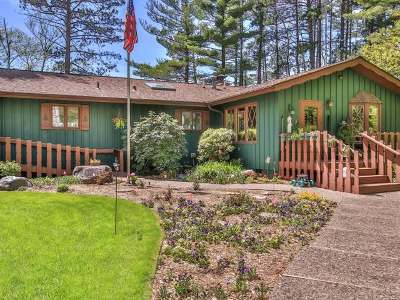 Minocqua Single Family Home For Sale: 1781 Fence Lake Rd E