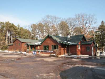 Eagle River Commercial For Sale: 3635 Townline Rd