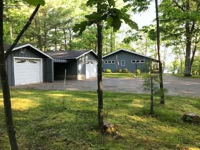 Minocqua Single Family Home For Sale: 7688 Helmar Rd
