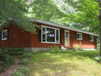 Tomahawk WI Single Family Home For Sale: $139,900