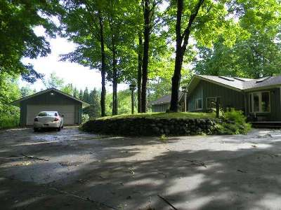Single Family Home For Sale: N2383 Crestwood Rd