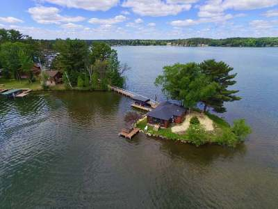 Arbor Vitae Single Family Home For Sale: 1486 Point Island Dr #1
