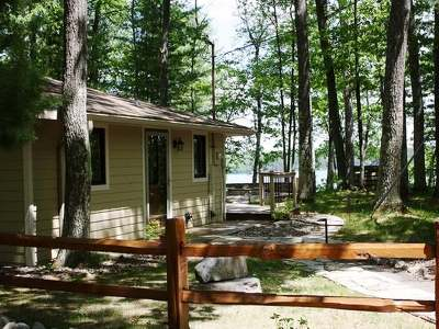 Minocqua Single Family Home For Sale: 7660 Blue Lake Pines Rd