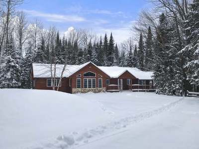 Eagle River Single Family Home For Sale: 2041 Musky Road
