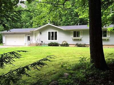 White Lake Single Family Home Active O/C: W2660 Hwy 64