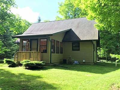 White Lake Single Family Home For Sale: N4550 Bank Rd