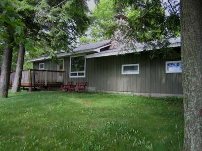 Elcho Single Family Home Active Under Contract: N11401 East Shore Rd