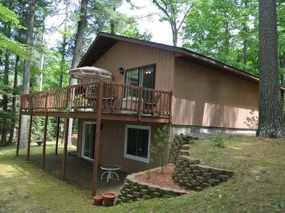 Minocqua Single Family Home For Sale: 4867 Jimmy Ln