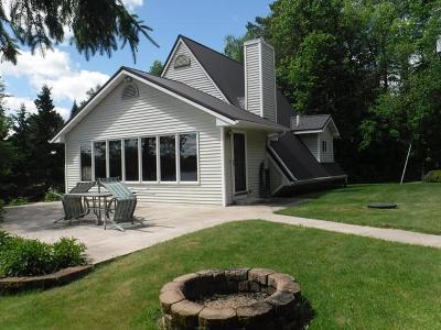 Single Family Home For Sale: N5158 Resort Ln E