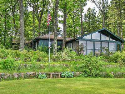 Lac Du Flambeau WI Single Family Home For Sale: $850,000