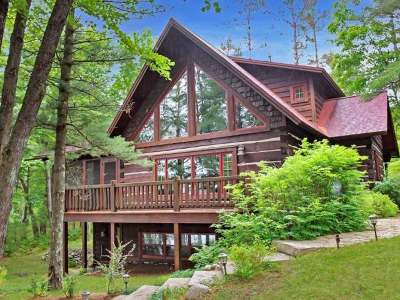 Minocqua WI Single Family Home For Sale: $699,000
