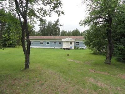 Forest County, Iron Wi County, Langlade County, Lincoln County, Oneida County, Vilas County Single Family Home For Sale: 11182 Friendly Dr