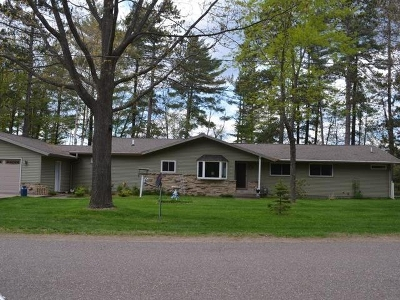 Tomahawk, Tripoli, Gleason, Rib Lake, Ogema, Brantwood Single Family Home For Sale: 1553 Kings Rd E