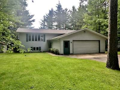 Tomahawk WI Single Family Home For Sale: $214,900
