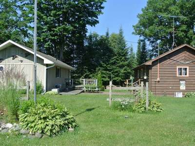 Lac Du Flambeau WI Single Family Home For Sale: $349,000