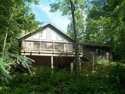 Minocqua Single Family Home Active O/C: 8759 Setting Sun Blv