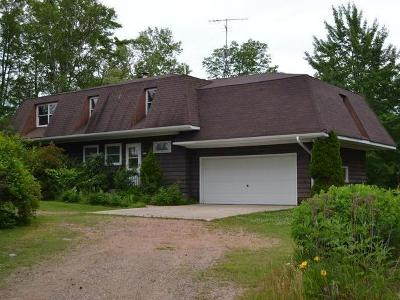 Langlade County, Forest County, Oneida County Single Family Home Active O/C: 4194 Hwy 17