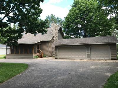 Tomahawk Single Family Home For Sale: 3492 Stones Circle Dr