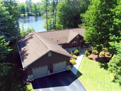 Tomahawk, Tripoli, Gleason, Rib Lake, Ogema, Brantwood Single Family Home For Sale: N11321 Frontage Rd